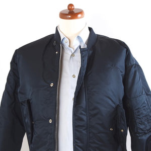 Schott Spec 86 19-MS Flight Jacket Size S - Navy Blue