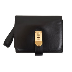 Josef Winkler Leather Travel Organizer - Black