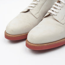 Load image into Gallery viewer, Cheaney of England Classic White Bucks Shoes Size 8.5F - White