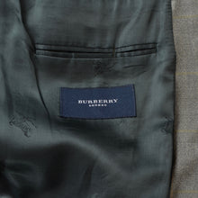 Load image into Gallery viewer, Burberry London Wool Jacket Size 28 - Grey Windowpane