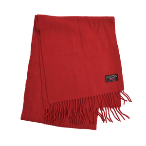 Paul & Shark Yachting Wool Scarf - Red