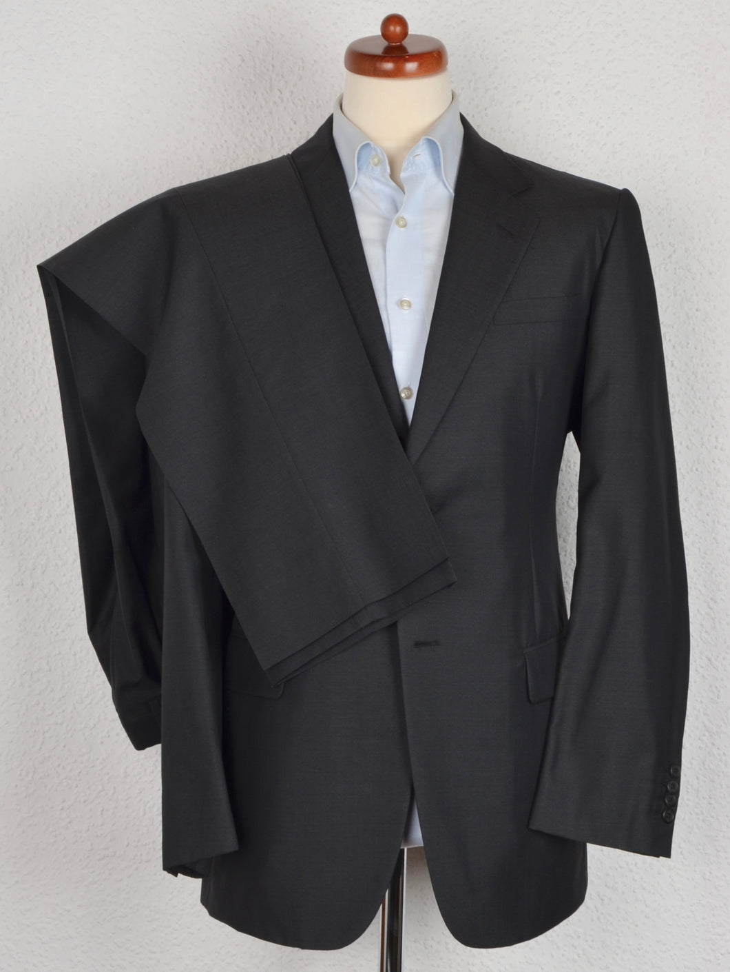 Prada Milano Wool/Silk Suit Size 52 - Dark Grey