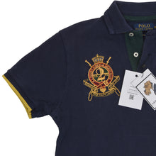 Load image into Gallery viewer, Polo Ralph Lauren Custom Fit Shirt Size XS - Navy