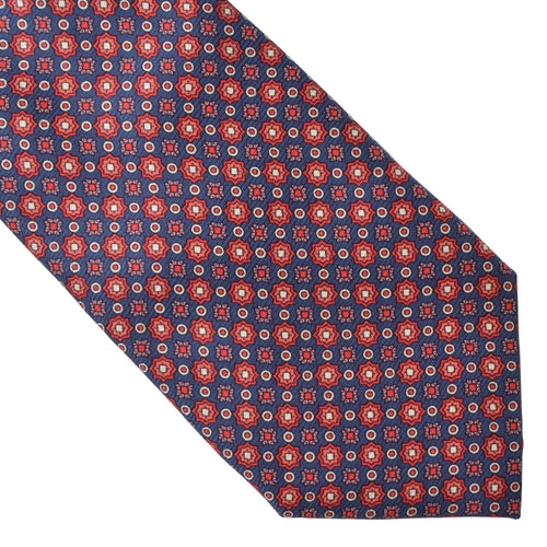 Christian Dior Silk Tie - Starburst/Medallion