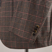 Load image into Gallery viewer, NEW Luigi Bianchi Mantova Wool/Cashmere Jacket Size 52 - Plaid
