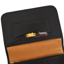 Load image into Gallery viewer, Josef Winkler Leather Travel Organizer - Black