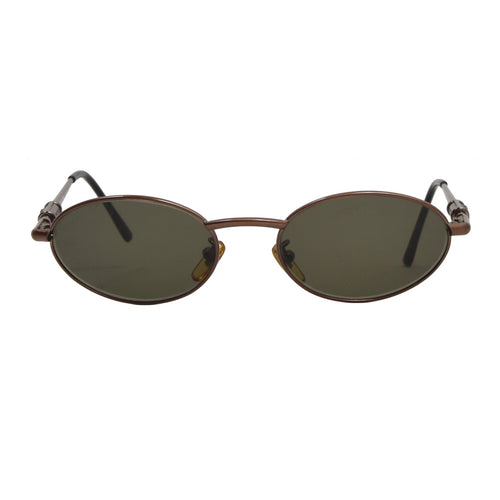 Vintage Gianni Versace Mod S13 Col 53M Sunglasses - Copper/Brown