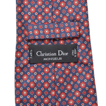 Load image into Gallery viewer, Christian Dior Silk Tie - Starburst/Medallion