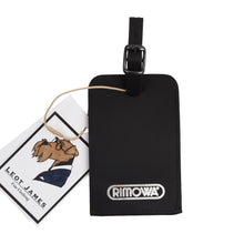 Load image into Gallery viewer, RIMOWA Leather Luggage Tag - Black