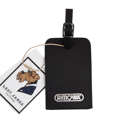 RIMOWA Leather Luggage Tag - Black