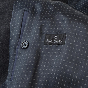 Paul Smith Chesterfield Coat Size L - Grey