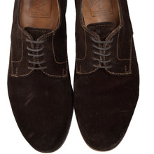 Load image into Gallery viewer, der Budapester x Alfred Sargent Suede Shoes Size 8 - Chocolate