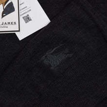 Load image into Gallery viewer, Burberry London Merino Wool Sweater Size M - Charcoal