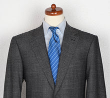 Load image into Gallery viewer, Canali 1934 Flecked Wool Suit Size 52 - Black/White/Grey