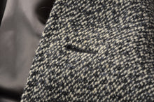 Load image into Gallery viewer, Handmade Tweed Overcoat by Samek Wien - Black, White, Grey