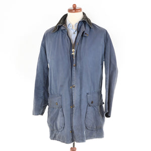 '80s Barbour Border Lightweight - Blue