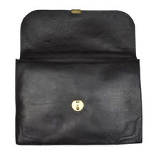 Load image into Gallery viewer, Salamander Pebblegrain Leather Briefcase - Black