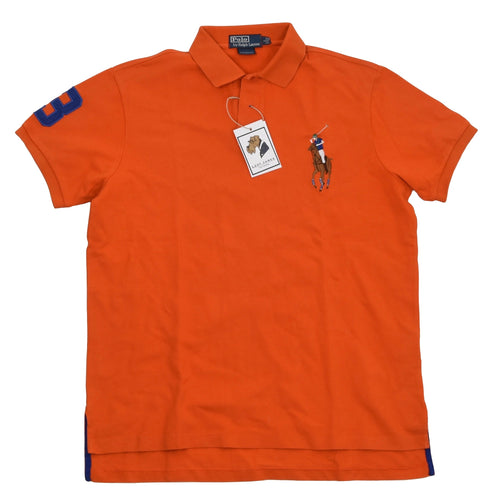Polo Ralph Lauren Custom Fit Shirt Size L - Orange