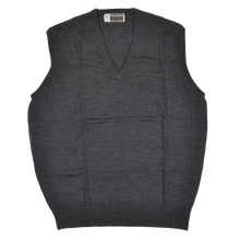 Load image into Gallery viewer, John Smedley of England Sweater Vest Size XL  - Grey