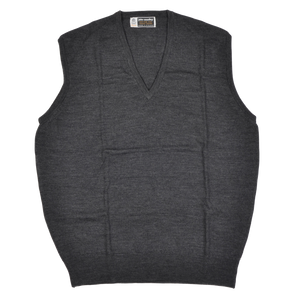 John Smedley of England Sweater Vest Size XL  - Grey