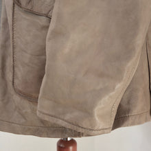 Load image into Gallery viewer, Trapper Lamb Nappa Size 60 Leather Jacket - Taupe