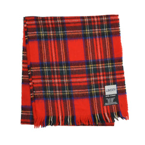 Liberty Scottish Wool Scarf - Royal Stewart