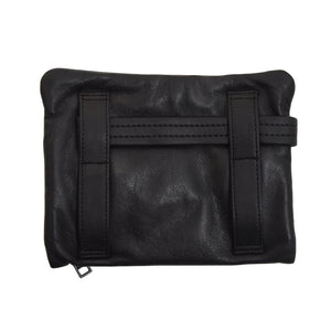 Pack Easy Leather Travel Organizer - Black
