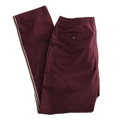 Polo Ralph Lauren Drawstring Work From Home Pants Size M - Burgundy