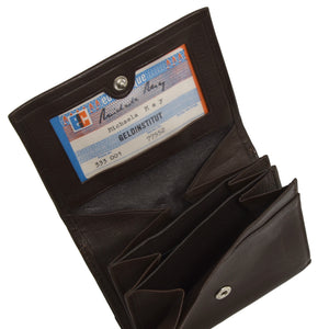 Creation Weiss Leather Wallet - Brown