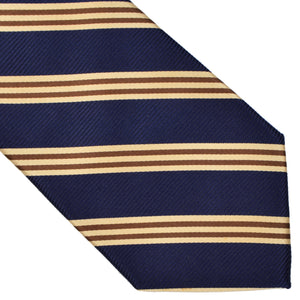Brooks Brothers Classic Striped Tie - Blue