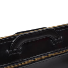 Load image into Gallery viewer, F. Schulz Leather Document Carrier/Portfolio - Black