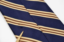 Load image into Gallery viewer, Brooks Brothers Classic Striped Tie - Blue
