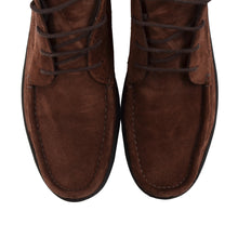Load image into Gallery viewer, D. Lepori Snuff Suede Boots Size 42 - Tobacco