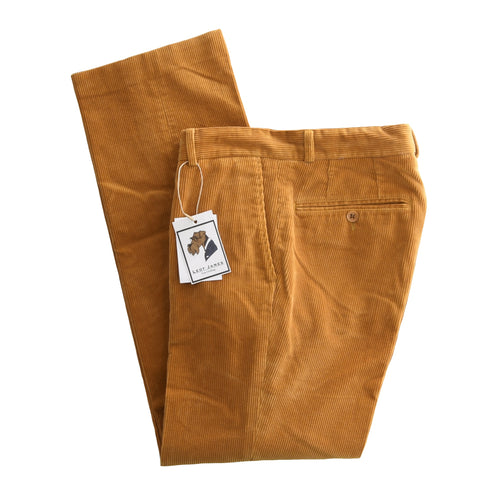 Country Life Brisbane Moss Corduroy Pants Size 48 - Ochre