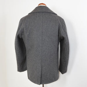 Schott USN 740N Pea Coat Size 40 - Oxford Grey