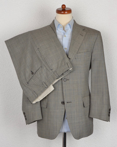 J Press 3/2 Wool Suit Size - Prince of Wales