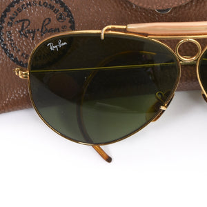 Bausch & Lomb Ray-Ban Shooter Sunglasses - Gold