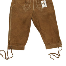 Load image into Gallery viewer, Meindl Classic Knee-Length Lederhosen Size 44 - Brown