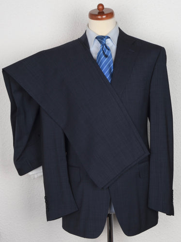 Canali 1934 Wool Suit Size 52 - Blue