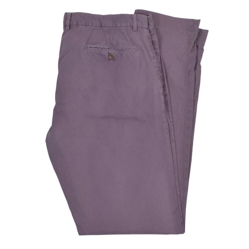 Brunello Cucinelli Cotton Pants Size 54 - Purple