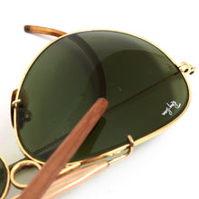 Load image into Gallery viewer, Bausch & Lomb Ray-Ban Shooter Sunglasses - Gold