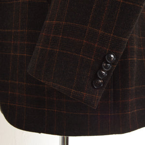 Pal Zileri Wool/Cashmere Jacket Size 50 - Brown