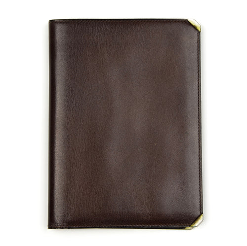 Valextra Milano Breast Wallet with Inserts - Brown