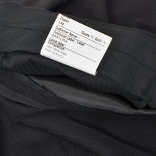 Load image into Gallery viewer, Sarar Sartoria Super 150s Suit Size 58 - Black