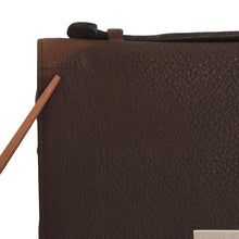 Load image into Gallery viewer, Mano Water Buffalo Leather Travel Organizer - Brown