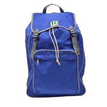 Load image into Gallery viewer, Vintage Kamarg Nylon Rucksack - Blue