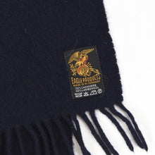 Load image into Gallery viewer, Eagle Products Cashmere/Wool Scarf - Navy Blue