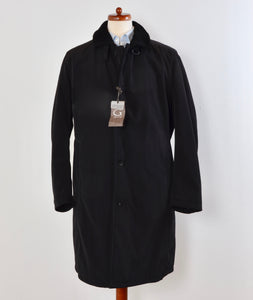 Gimo's Water Repellent Fur-Lined Coat Size 56 - Black