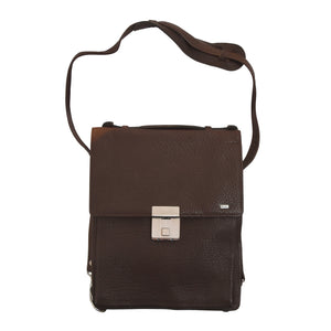 Mano Water Buffalo Leather Travel Organizer - Brown