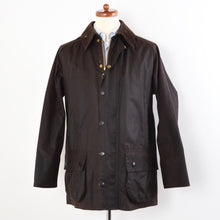 Load image into Gallery viewer, Barbour Beaufort Waxed Jacket A190 Size C44/112cm - Brown